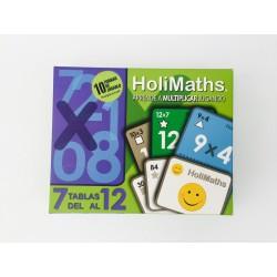 Tablas del 7 al 12 Multiplicación