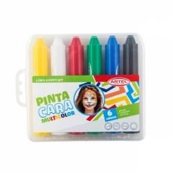 Pinta Cara 6 Colores.