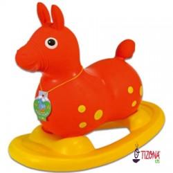 Caballito Pony Pong Balancín de Goma.