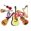 Guitarras.
