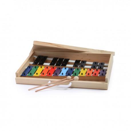 Metalofonos 22 notas de colores
