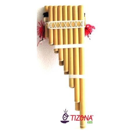 Zampoña Malta 7/8 tubos.