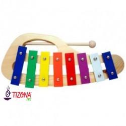 Metalofonos 8 tonos forma colores.